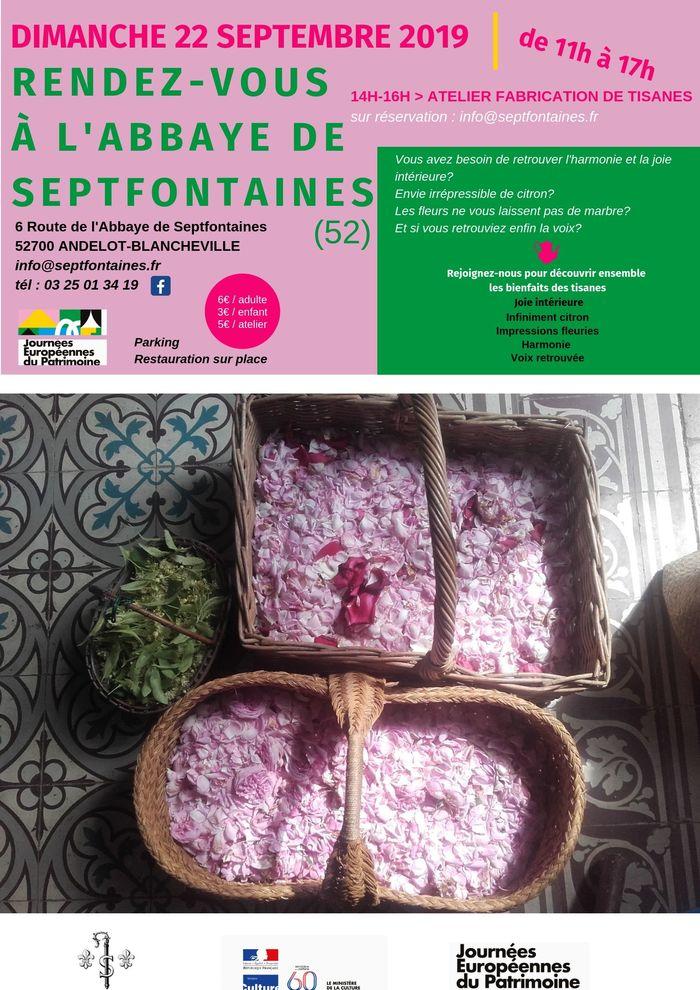 Journées du patrimoine 2019 - Atelier tisanes de plantes sauvages