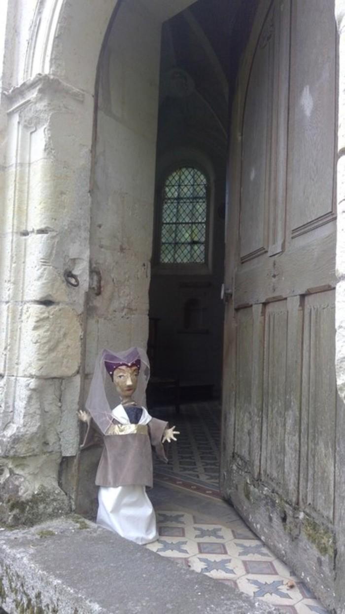 Journées du patrimoine 2020 - Visite de la Chapelle du Manoir et des extérieurs, et Animation par la marionnette Jeanne de Laval