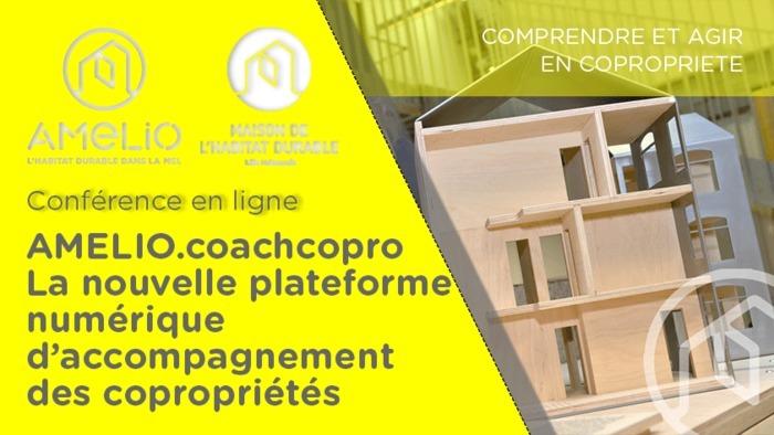 AMELIO.coachcopro : La nouvelle plateforme numérique d'accompagnement des copropriétés