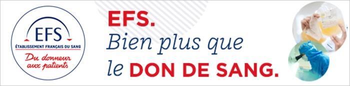 Une collecte de sang est organisée Samedi 21 septembre De 10h à 17h Place de la cathédrale sur le site EFS d'Albi.