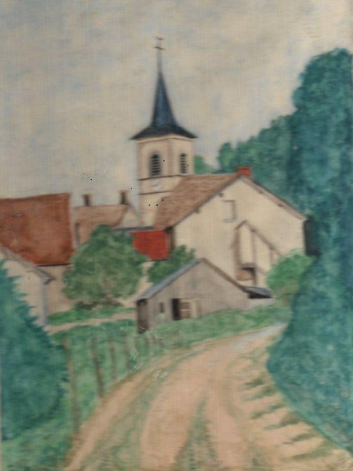 Journées du patrimoine 2019 - Les aquarelles et dessins de Robert Guillemenot (1901-1987)
