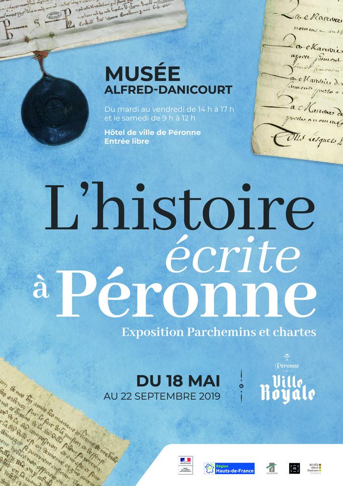 Nuit des musées 2019 -Parchemins et chartes : l'Histoire écrite à Péronne