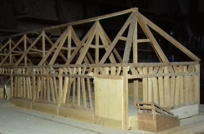Journées du patrimoine 2020 - Exposition maquette pan de bois