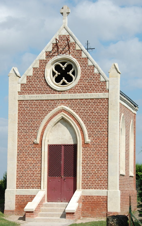 Journées du patrimoine 2020 - Chapelle Notre-Dame-de-Grâce 1867 de Bouchoir (Exposition dans l'église)