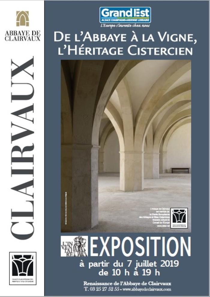 Journées du patrimoine 2019 - De l'abbaye à la vigne, l'héritage cistercien