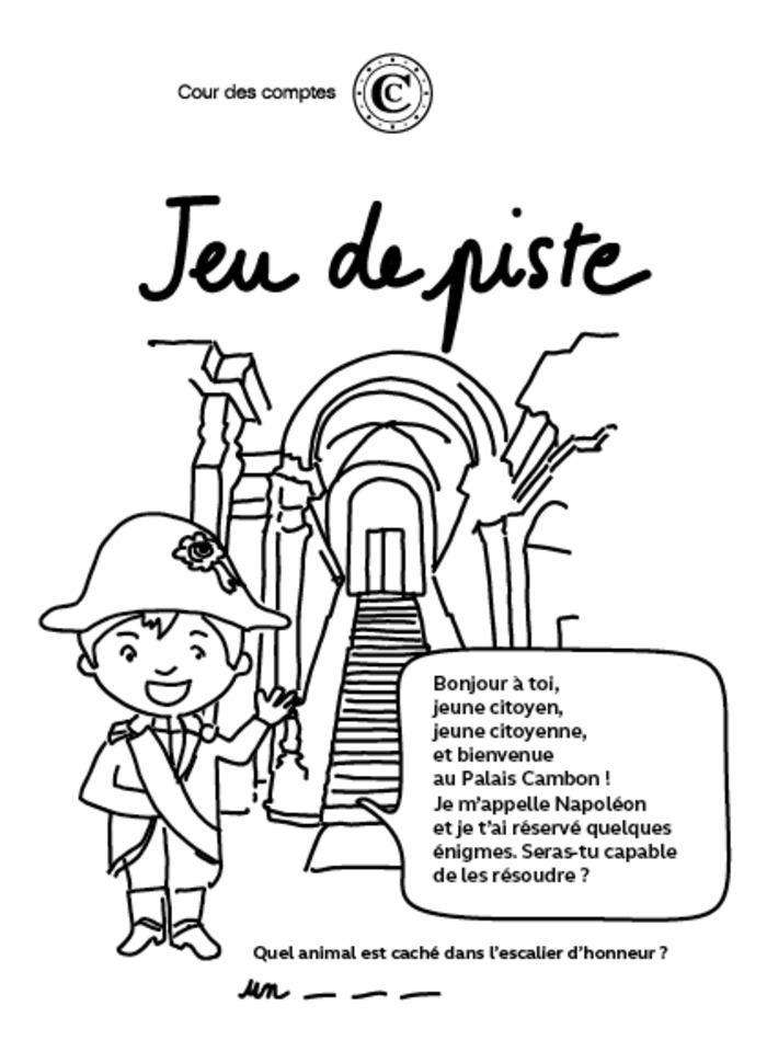 Journées du patrimoine 2020 - La Cour des comptes ouvre ses portes aux enfants !