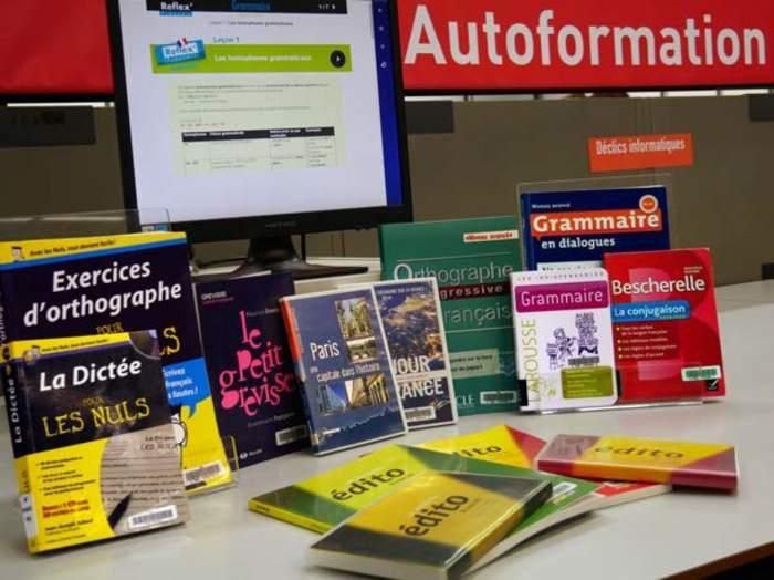Orthographe, conjugaison, grammaire... La Bpi vous propose des méthodes audio ou en ligne destinées aux francophones qui souhaitent se perfectionner.