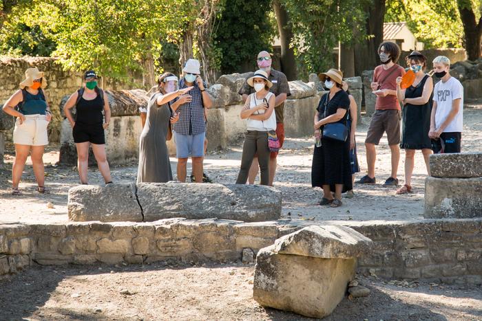 Visite guidée flash : 30 min pour connaître les monuments d'Arles