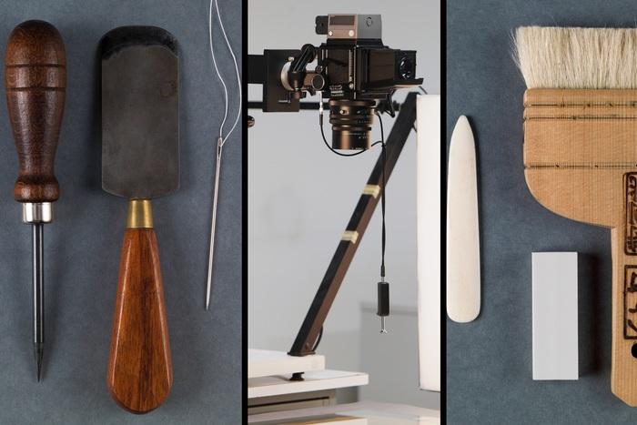 Journées du patrimoine 2019 - Visite des ateliers techniques (restauration, reliure, photographie)