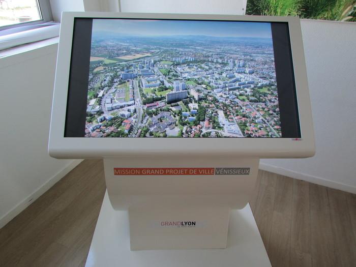 Journées du patrimoine 2019 - Exposition de la maquette de la Ville de Vénissieux et de la maquette numérique portant sur le renouvellement urbain du Plateau