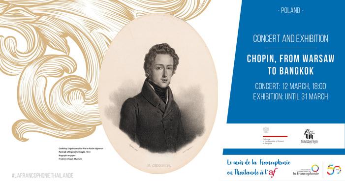 Exposition sur Frédéric Chopin et concert spécial pour le vernissage.