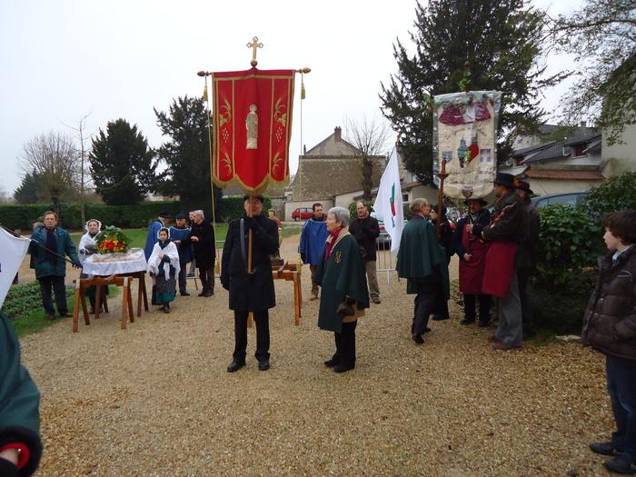 Journées du patrimoine 2019 - Atelier enfants : reproduction de l'écusson de la Confrérie Saint-Vincent