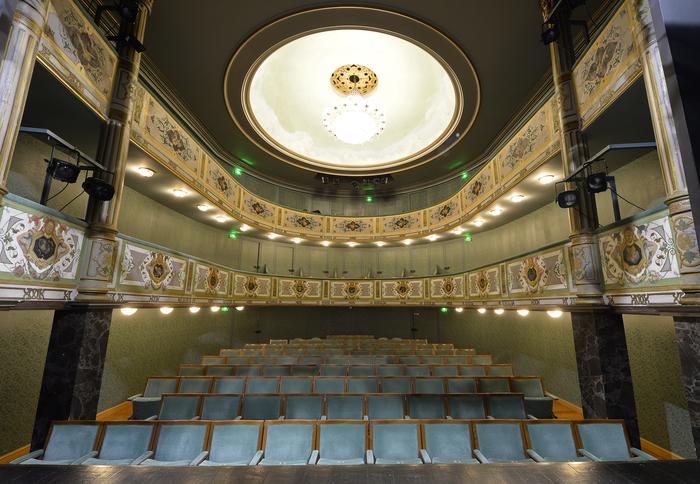 Journées du patrimoine 2019 - Visite du théâtre de la Halle-au-Blé