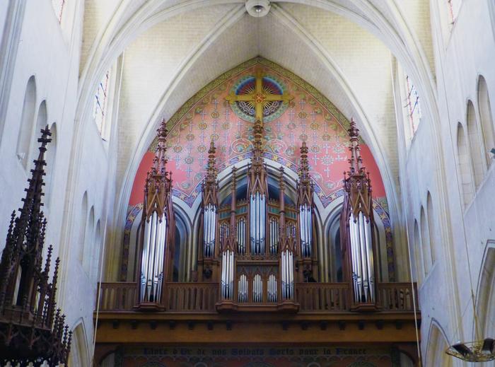 Journées du patrimoine 2019 - Visite guidée des grandes orgues de l'église Saint-Nicolas