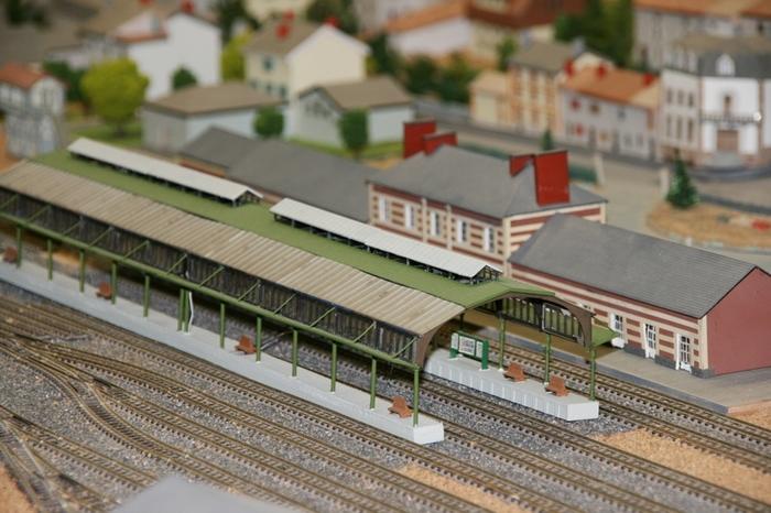 Journées du patrimoine 2020 - Maquette ferroviaire animée