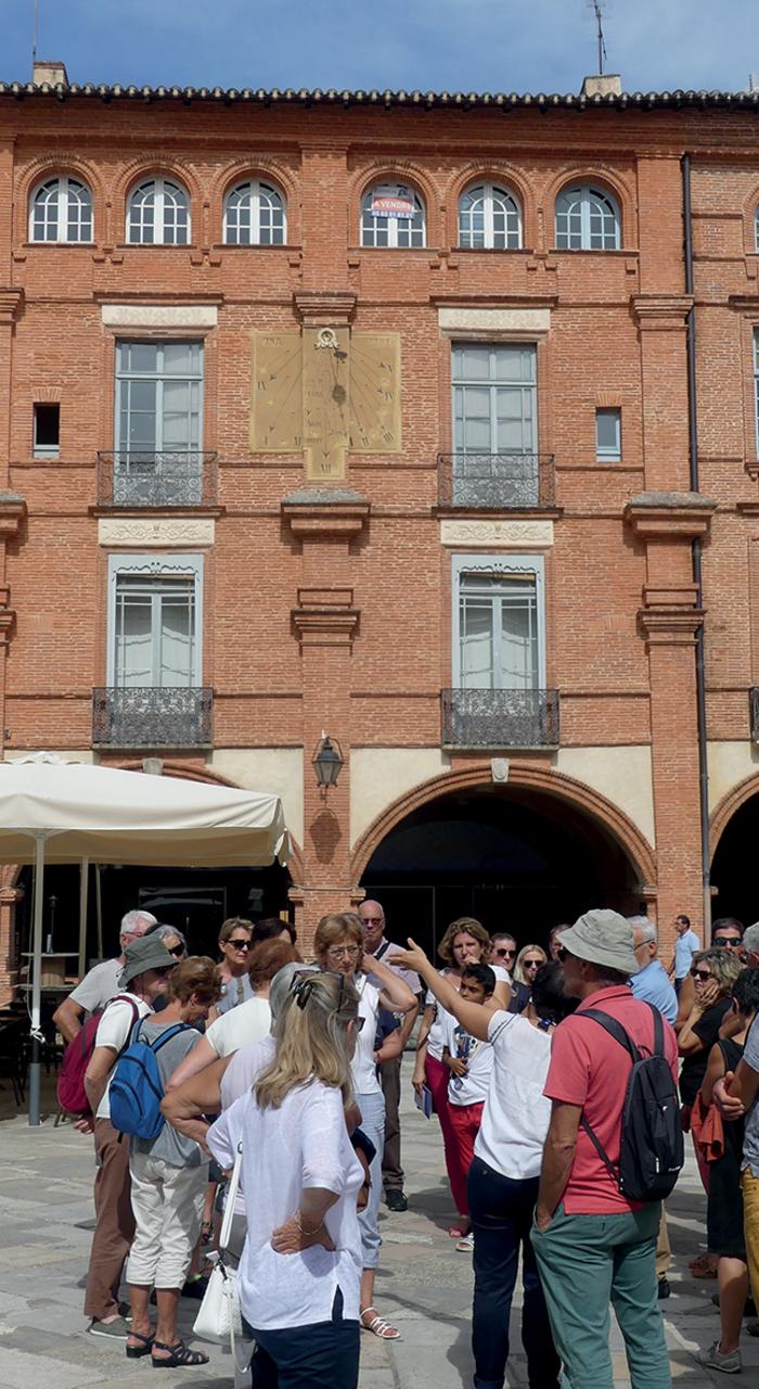 Journées du patrimoine 2019 - Visite guidée de Montauban
