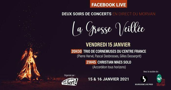 Trio de cornemuses du Centre France et Christian Maes solo