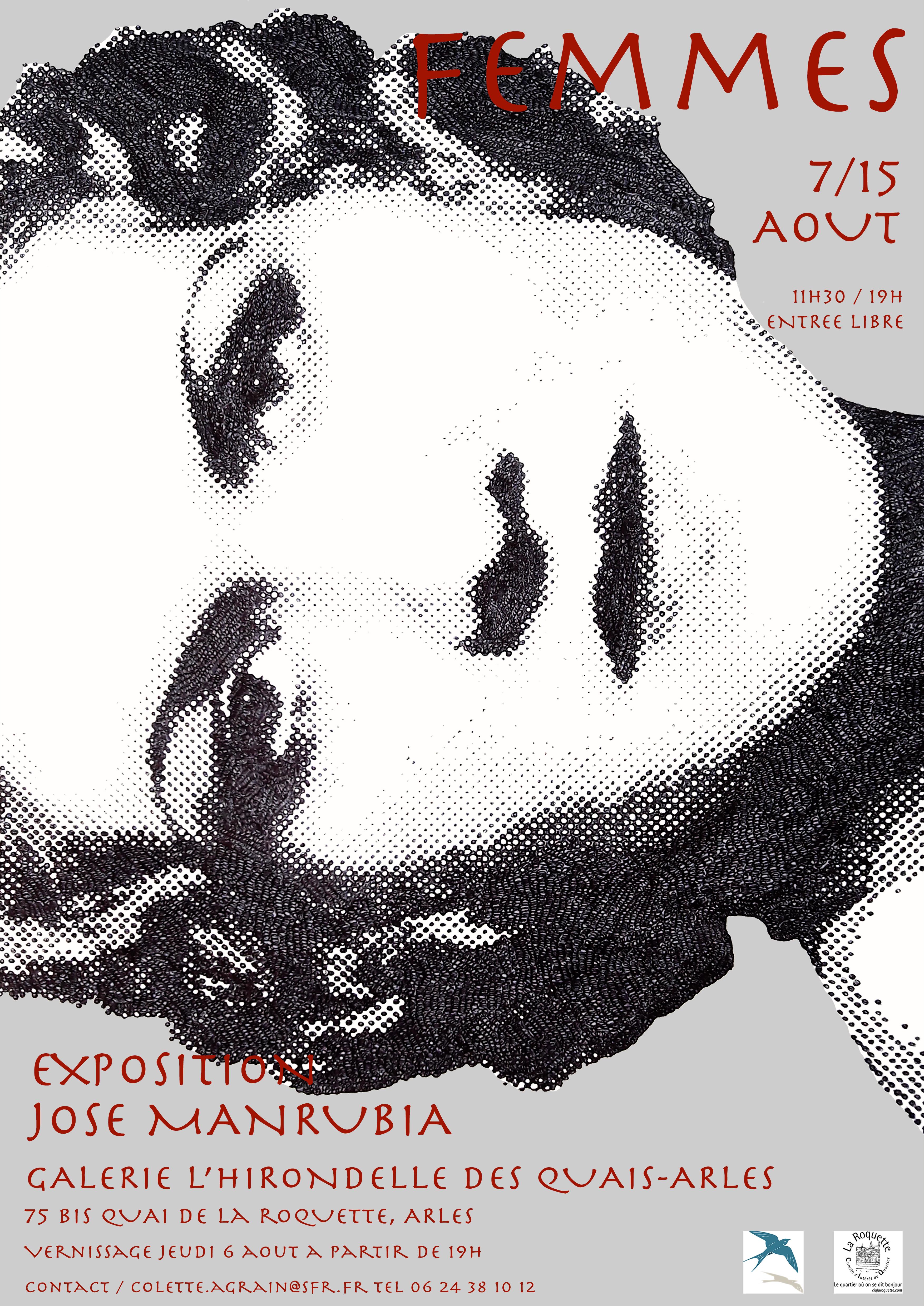 Exposition de José Manrubia...en Août à Arles, le Flamenco est Reine !