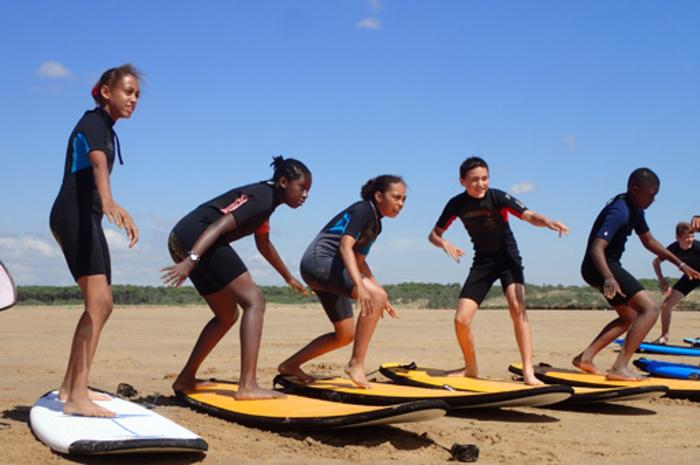 4 séances sur 2 sites différents ! A toi de surfer !