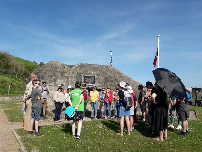 Journées du patrimoine 2019 - Visite guidée : raconte-moi le D-Day à Omaha Beach