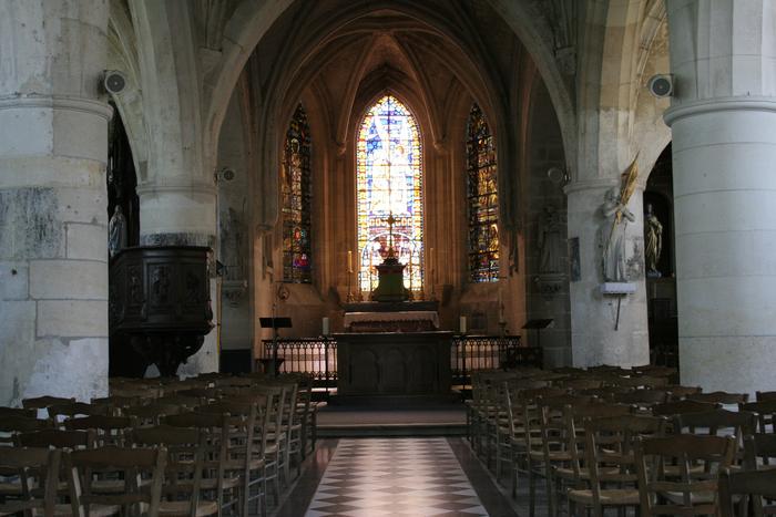 Journées du patrimoine 2020 - Visite de l'Église Saint-Pierre-ès-Liens de Blérancourt