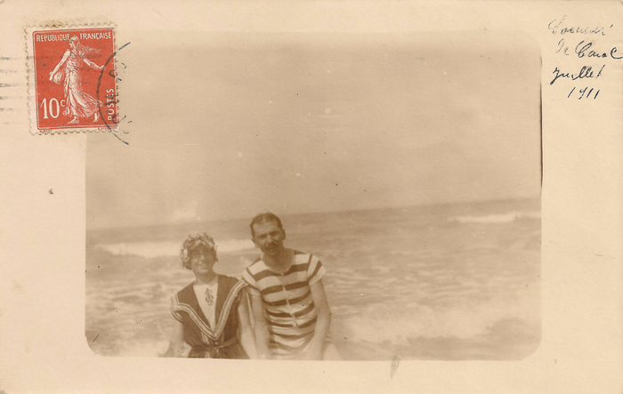 Journées du patrimoine 2019 - Exposition Carolles-plage en images