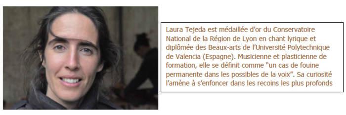 Journées du patrimoine 2019 - Création musicale in situ de Laure Tejeda et ...dans la chapelle de Varagnes