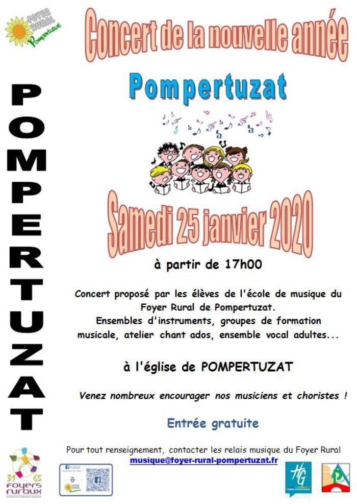 Concert de la nouvelle année à Pompertuzat
