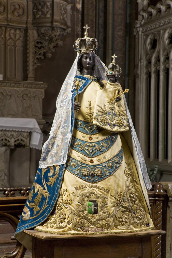 Journées du patrimoine 2020 - Notre-Dame dans la Seconde Guerre Mondiale » MC Vandembeusche , historienne
