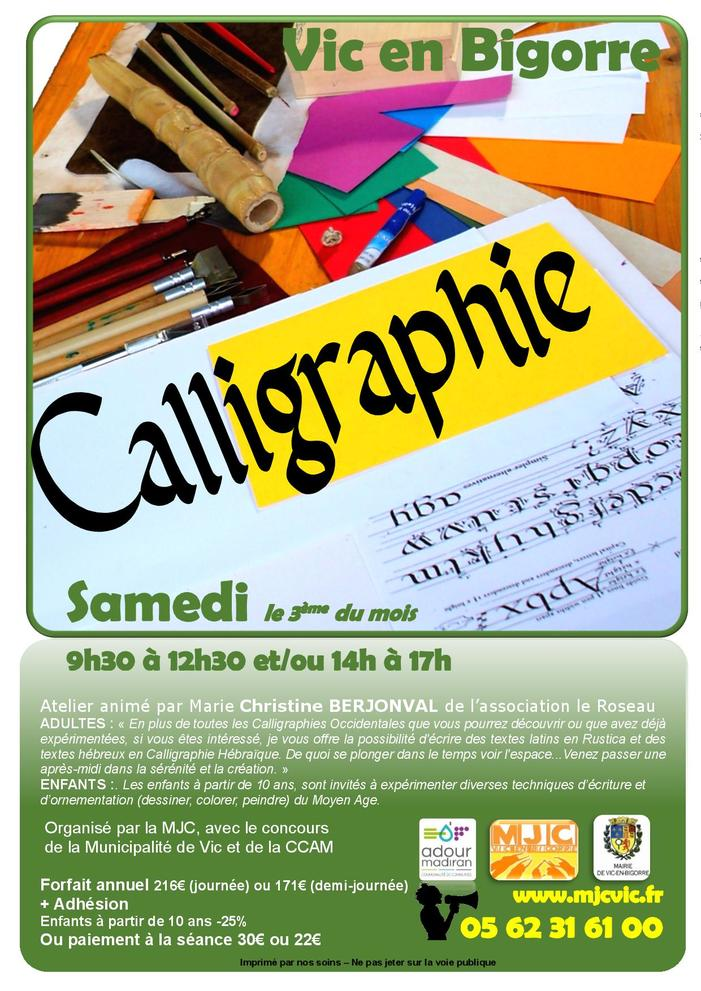 Ateliers de Calligraphie traditionnelle