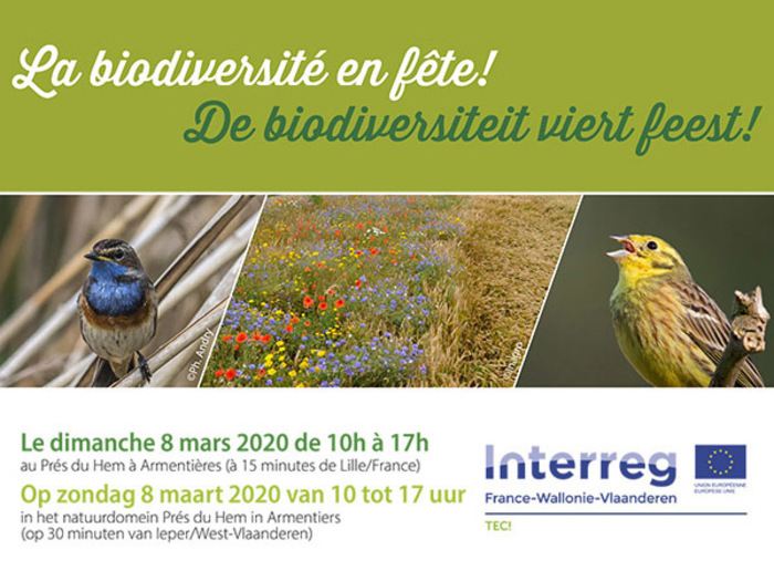 La biodiversité en fête à Armentières !