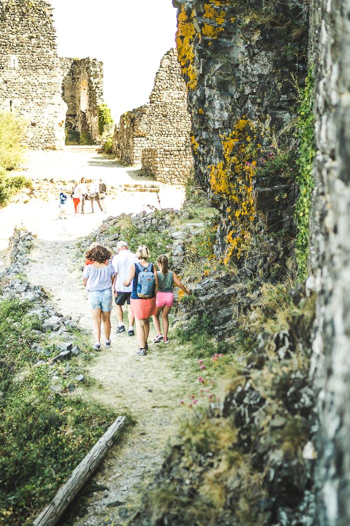 Journées du patrimoine 2020 - Visite commentée du château de Rochemaure