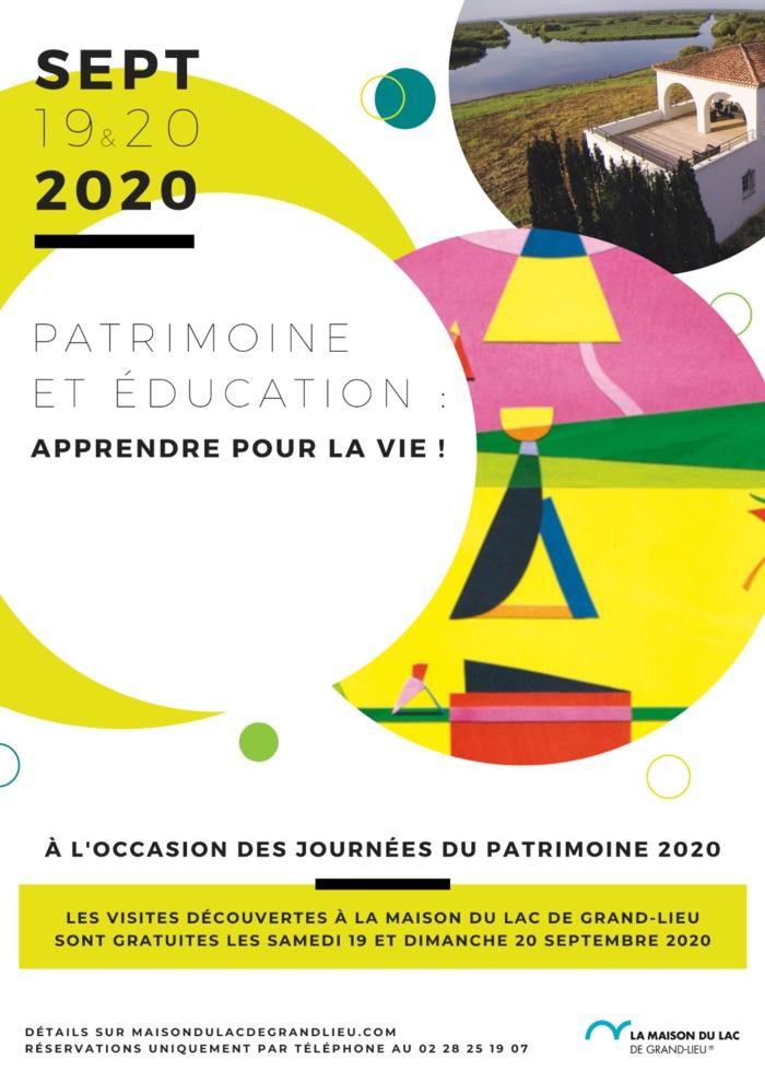 Journées du patrimoine 2020 - Visite découverte de La Maison du Lac de Grand-Lieu