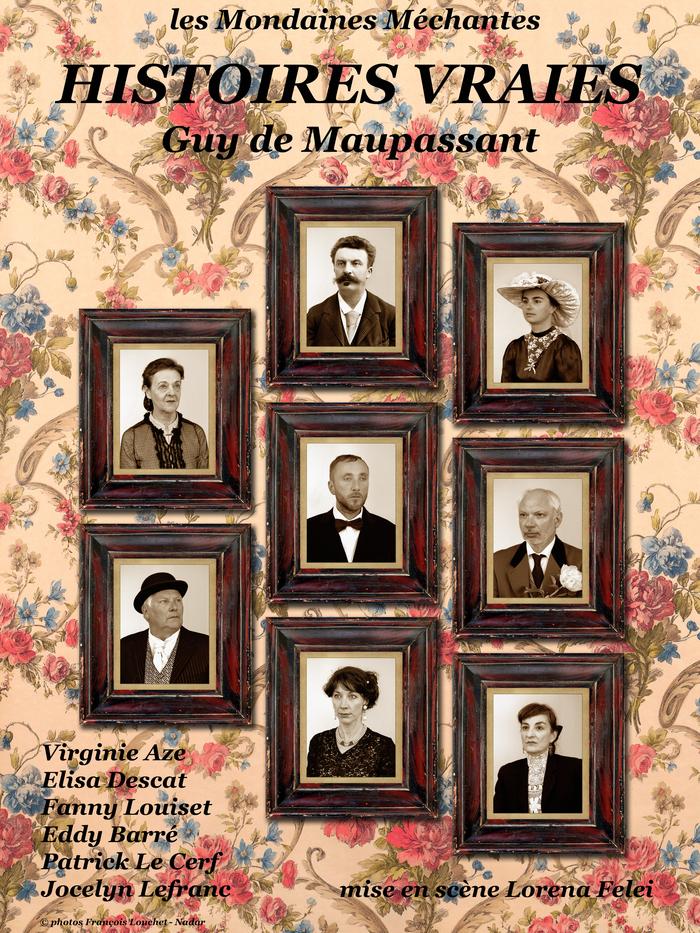 Journées du patrimoine 2020 - Spectacle -Lecture : Saynètes des Histoires vraies (Guy de Maupassant)