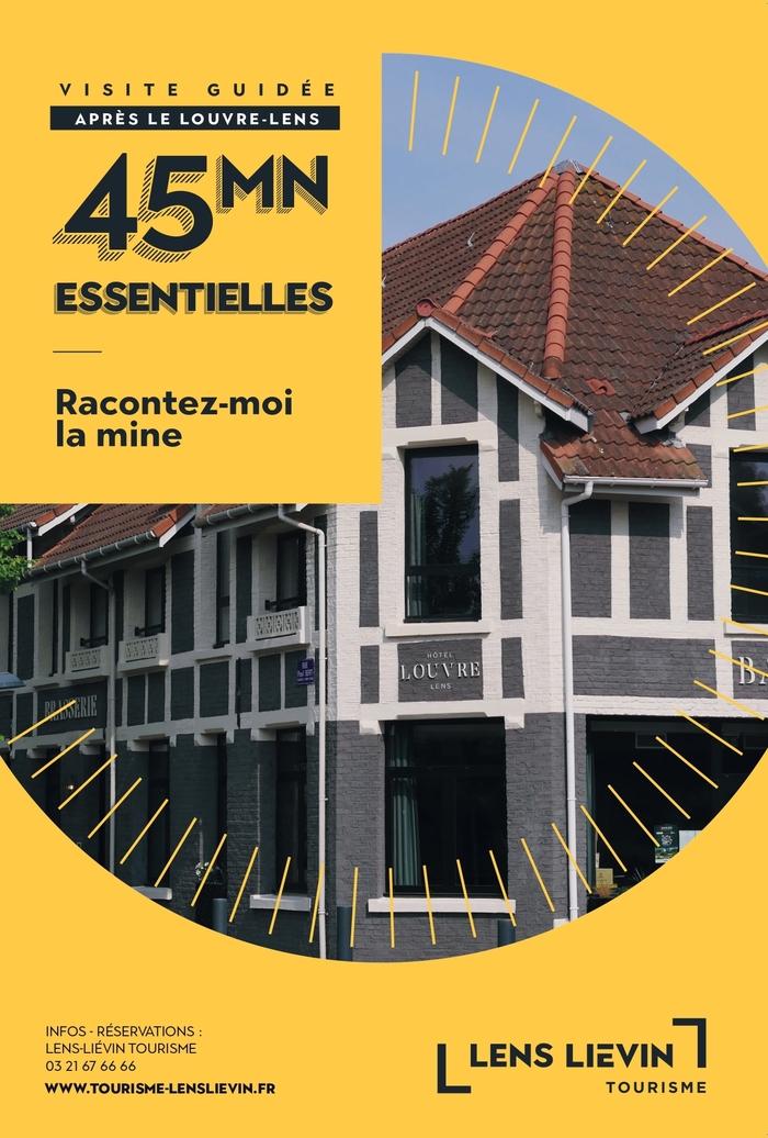 Journées du patrimoine 2020 - Visite essentielle, la Mine autour du Louvre-Lens