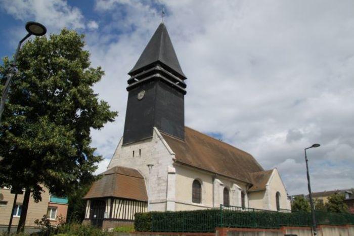 Journées du patrimoine 2020 - Visite libre de l'église Saint-Aubin de Petit-Couronne