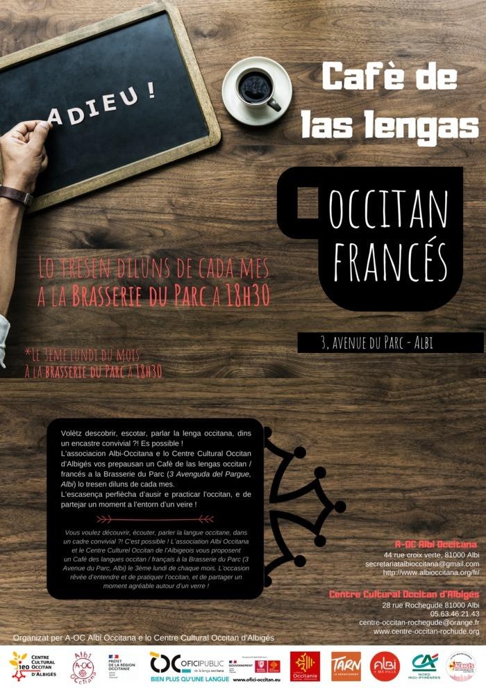 Cafè de las lengas - occitan / français