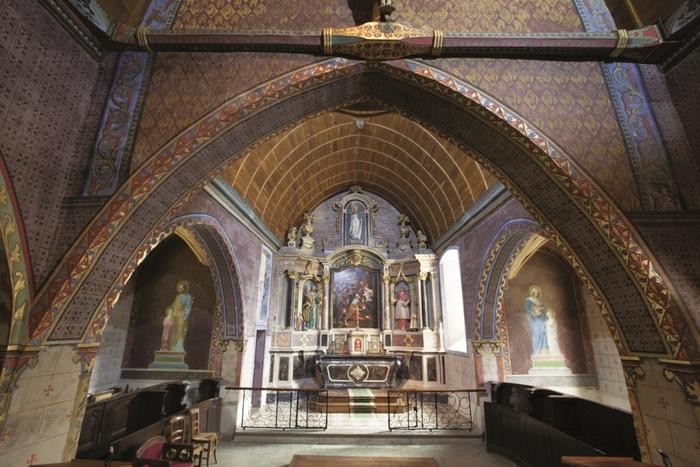 Journées du patrimoine 2019 - visite guidée église St-Pierre de Bouchamps