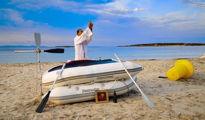 Pèlerins de la mer, Sicile 2020