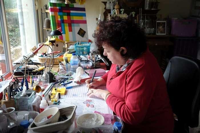 Journées du patrimoine 2020 - Démonstration de verrier d'art avec Corinne Allard