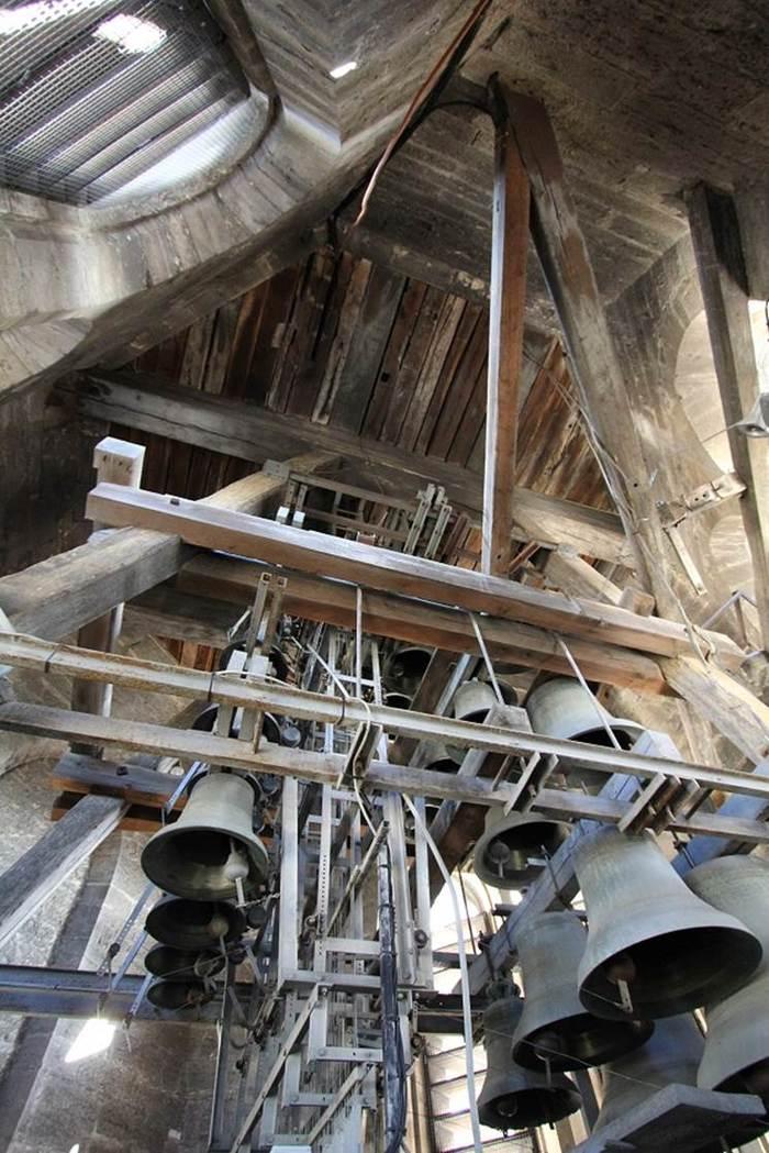 Journées du patrimoine 2019 - Visite guidée gratuite du carillon - Cathédrale St-Bénigne de Dijon - Démonstration par un carillonneur