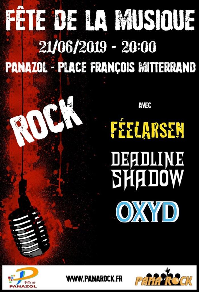 Fête de la musique 2019 - Féelarsen // Deadline Shadow // Oxyd