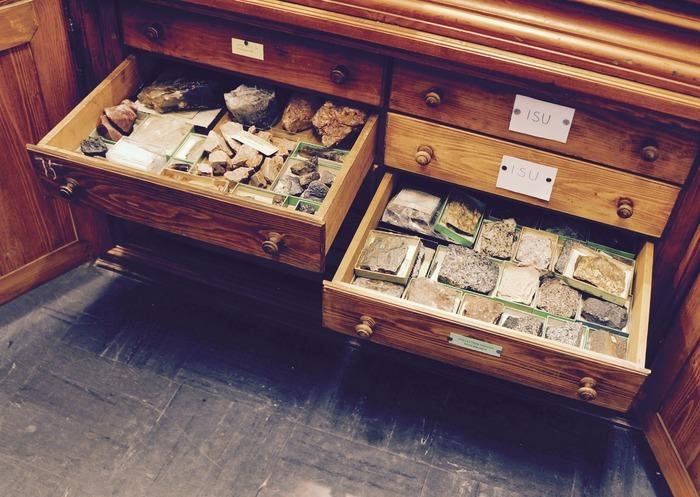 Journées du patrimoine 2020 - Visite du musée de minéralogie et de la collection de paléontologie