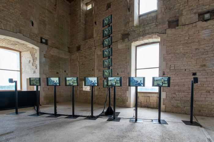 Journées du patrimoine 2019 - Exposition Lac Noir au Château de Maulnes - Site emblématique du Loto du Patrimoine 2019