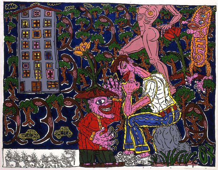 Journées du patrimoine 2019 - Visite guidée de la Biennale avec l'artiste Joël Brisse et Chantal Mennesson