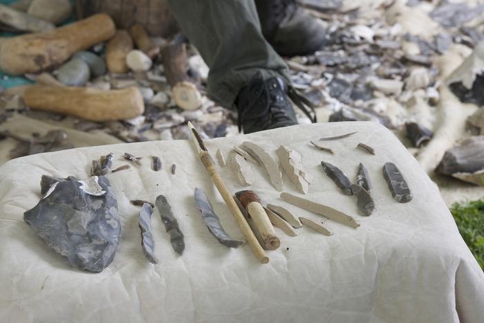 Journées du patrimoine 2020 - Visite des réserves du site archéologique d'Etiolles