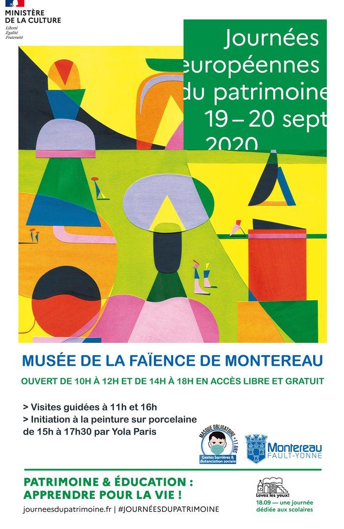 Journées du patrimoine 2020 - Visite guidée du Musée de la Faïence