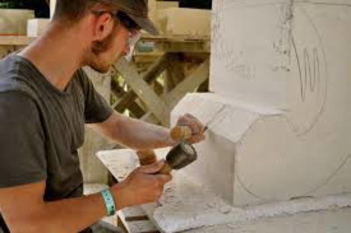 Journées du patrimoine 2020 - Atelier Taille de pierre et sculpture
