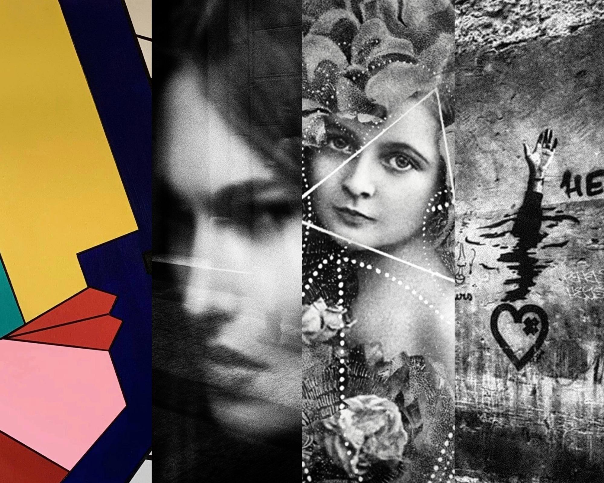 La peintre Olivia Dritzas et les photographes Isabelle Liv, Nicolas Olivier, Frank G Alonso exposent ensemble.