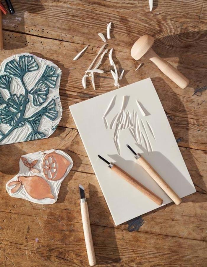 Ateliers Linogravure – vacances de la Toussaint